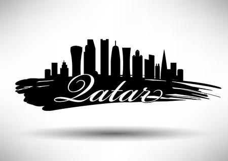 qatar: Qatar Skyline Design