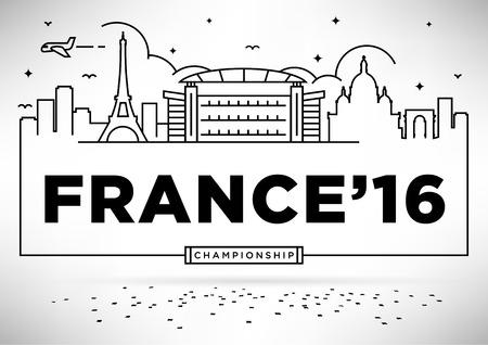 coeur: France 2016 European Football Championship Design