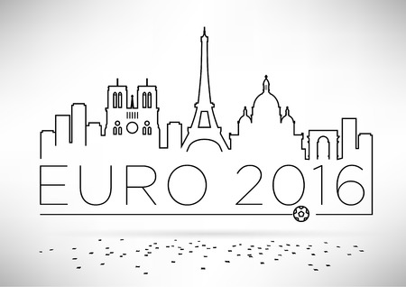notre dame de paris: France 2016 European Football Championship Design