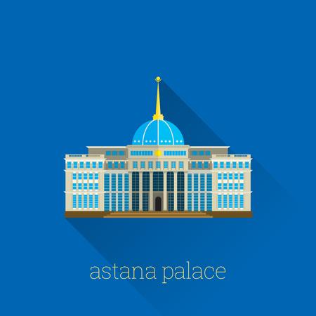 Astana Palace, Kazakhstan Poster Design