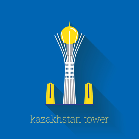 Astana Tower, Kazakhstan Poster Design