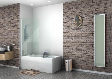 walk-in shower rendering