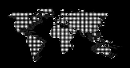 dispersed: world map