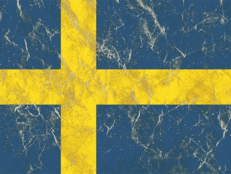 sweden flag Stock Photo - 22722302