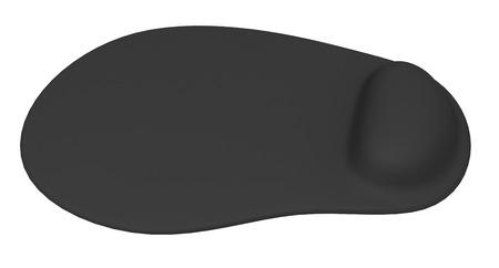 mousepad: Ergonomic mouse pad isolated on a white background Stock Photo