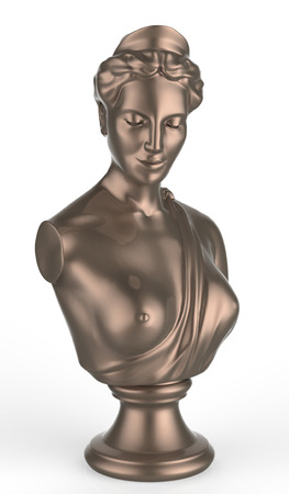 bust: bust of the queen