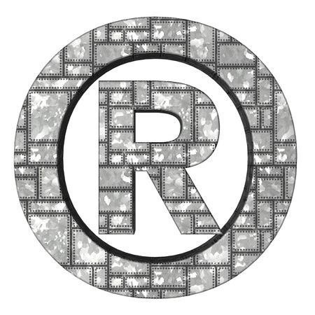 registered: registered trade mark metal