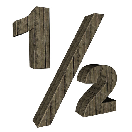 fraction: half fraction