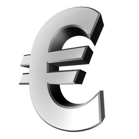3d colecci�n de la muestra - euro Foto de archivo