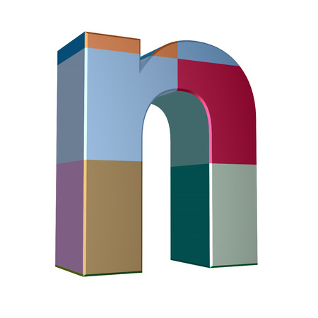cases: 3d letter collection - Small cases - n