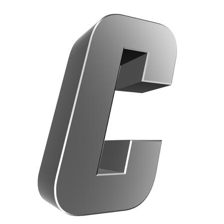 Colecci�n Carta 3D - C Foto de archivo