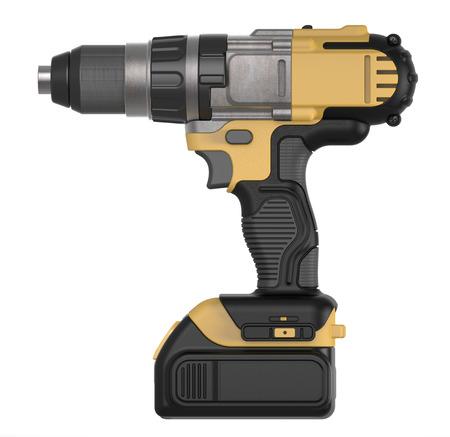 hand drill: cordless hand drill Stock Photo