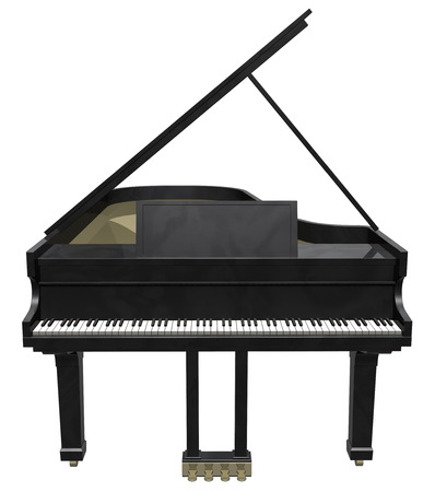 ebony: Grand piano