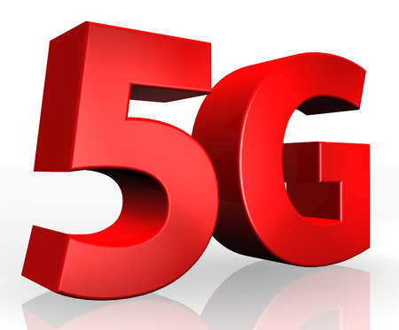 compatibility: 3D 5G text on white background