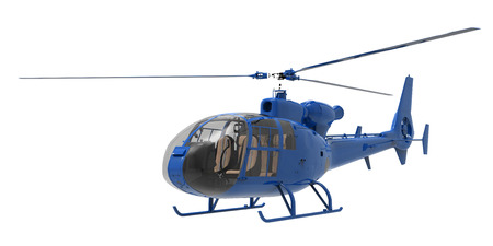 helicopter rescue: Helicopter isolated on white background