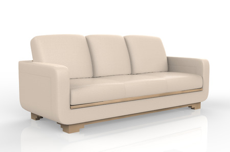 sofa furniture isolated on white background Zdjęcie Seryjne