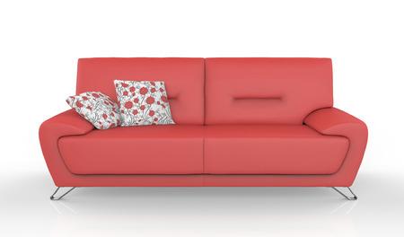 sofa furniture isolated on white background Zdjęcie Seryjne