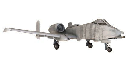 Fighter aircraft isolated on white background - 3D Render Banque d'images