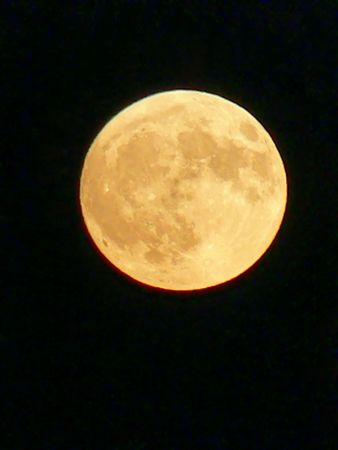 Full moon on black sky 30330 Stock Photo - 556628