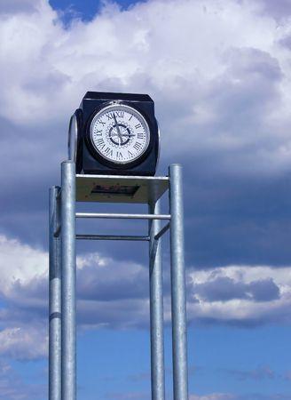 Clock on tower  40126 photo