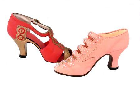 Miniature shoe  50301 Archivio Fotografico