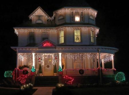 Viktorianisch Haus 50148 Standard-Bild - 797114