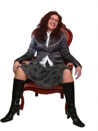 Happy Lady  60455.  photo