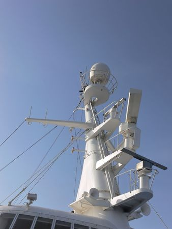 The mast of a cruse-ship. Stock Photo - 2047041