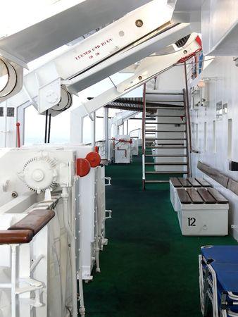 On board of an cruse ship. photo