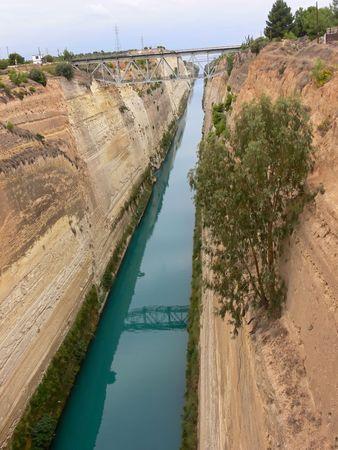 corinthian: Corinthian canal.