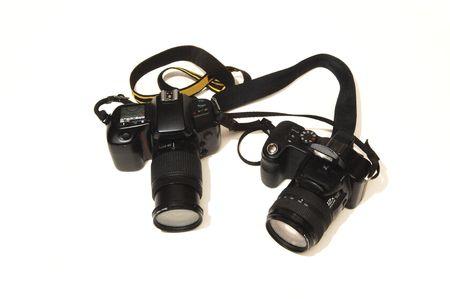 photo studio: Two cameras.
