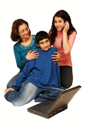 A family has fun together. Stock Photo - 2426307