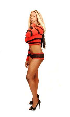 Young Jamaican girl 20. photo