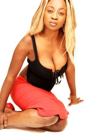 Young Jamaican girl . photo