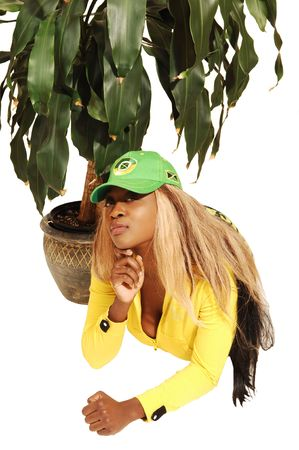 Young Jamaican girl 47. photo
