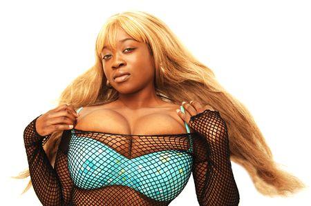 Young Jamaican girl Stock Photo
