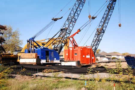 construction machinery: Construction machinery.