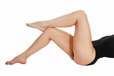 women s feet: The body part of woman