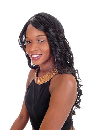 Lokale schwarze Mädchen