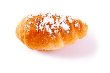 Croissants isolated on a white background