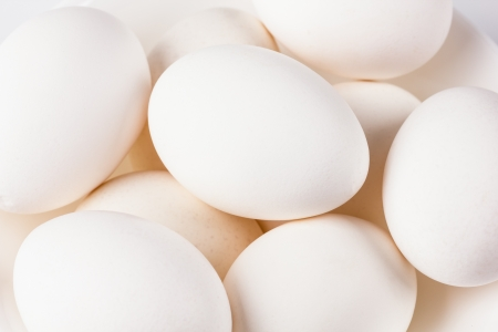 Whites chicken eggs close-up, background
