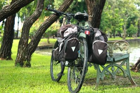 relent: bicicletta nel parco