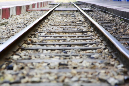 railroad tracks Imagens