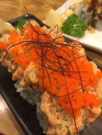 sushi set: Modern sushi set Stock Photo