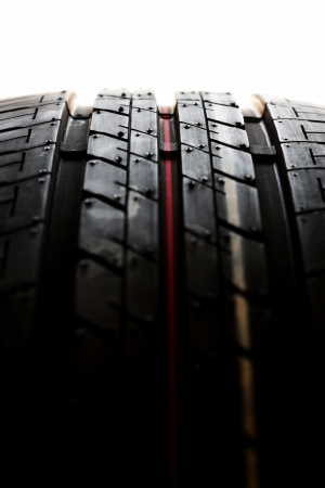 New auxiliary car tyre photo