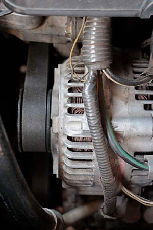 alternator: Car alternator