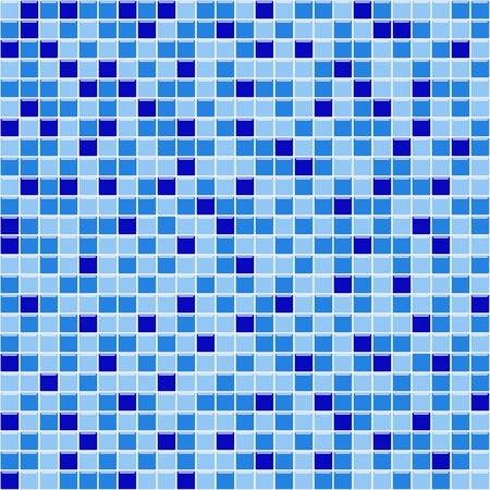 tapet: pool blue mosaic with hotspots