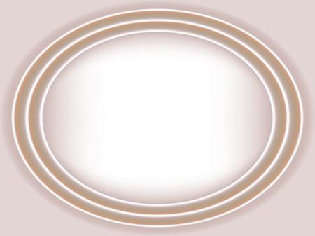 Cream satin wedding ellipse background. Grdient mesh Illustration