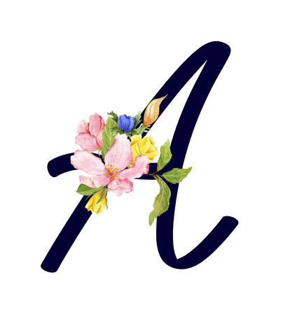ABC floral set A