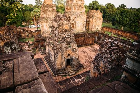 Temples Angkor Wat in Cambodia, ta Prohm, Siem Reap
